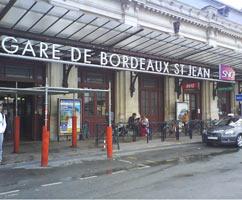 Bordeaux Gare Saint-Jean - Taxi Moto
