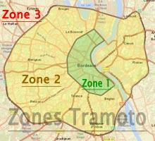 Moto Taxi Bordeaux - Tramoto - Tarifs